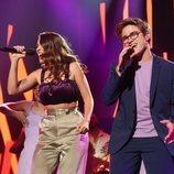 """Gèrard y Anaju cantan """"Up"""" en la Gala 1 de 'OT 2020'"""