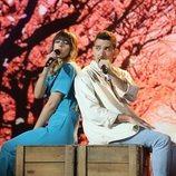 """Maialen y Bruno cantan """"Sinmigo"""" en la Gala 1 de 'OT 2020'"""