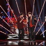 """Rafa y Hugo cantan """"Tu calorro"""" en la Gala 1 de 'OT 2020'"""