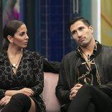 Anabel Pantoja y Gianmarco Onestini en la Gala 2 de 'El tiempo del descuento'