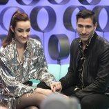 Adara Molinero y Gianmarco en la Gala 2 de 'El tiempo del descuento