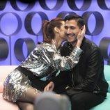 Adara besa a Gianmarco en la mejilla en 'El tiempo del descuento'
