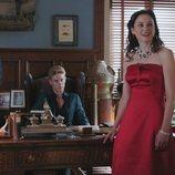 Daniel Arteaga y Berta Moliner en el 2x01 de 'Vivir sin permiso'
