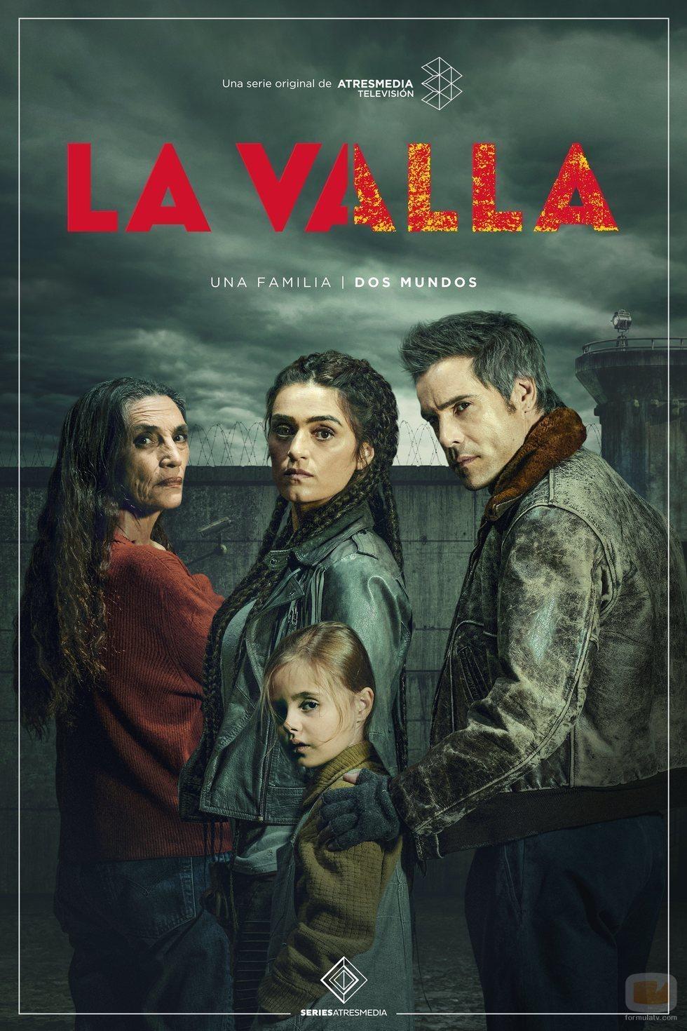 Póster promocional de 'La valla', serie de Atresmedia