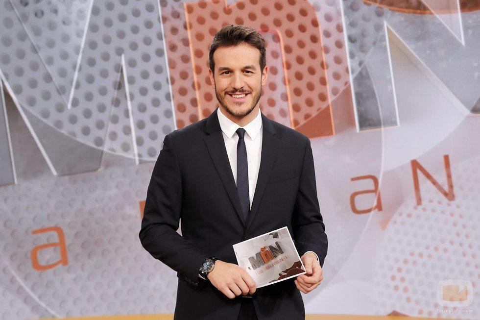 El periodista Diego Losada presenta 'La mañana' en La 1