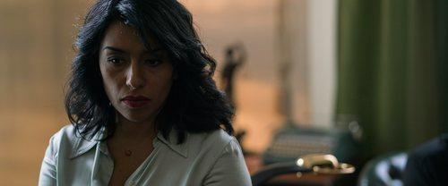 Angelita (Adriana Paz) es la abogada de Antonio en 'Perdida'
