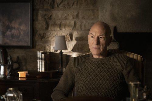 Patrick Stewart es Jean-Luc Picard en 'Star Trek: Picard'