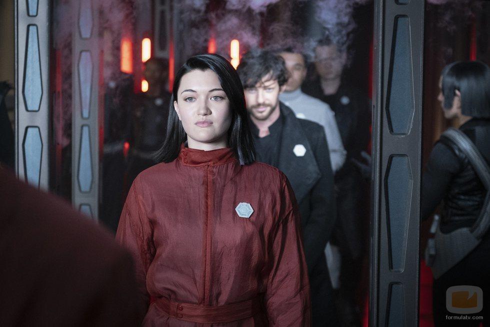 Isa Briones es Dahj en 'Star Trek: Picard'