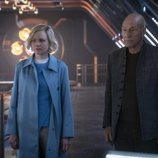 Agnes Jurati y Jean-Luc Picard en 'Star Trek: Picard'