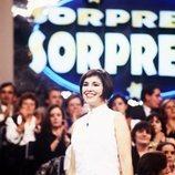 Isabel Gemio, presentadora de 'Sorpresa, sorpresa'