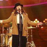 Belinda Washington es Patti Smith en la Gala 3 de 'Tu cara me suena 8'