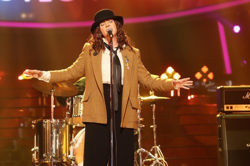 Belinda Washington es Patti Smith en la Gala 3 de 'Tu cara me suena 8'