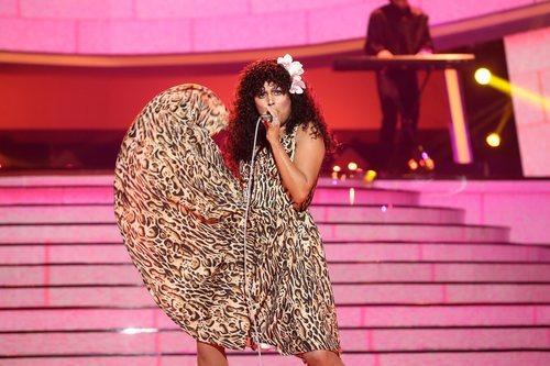 Cristina Ramos es Donna Summer en la Gala 3 de 'Tu cara me suena 8'
