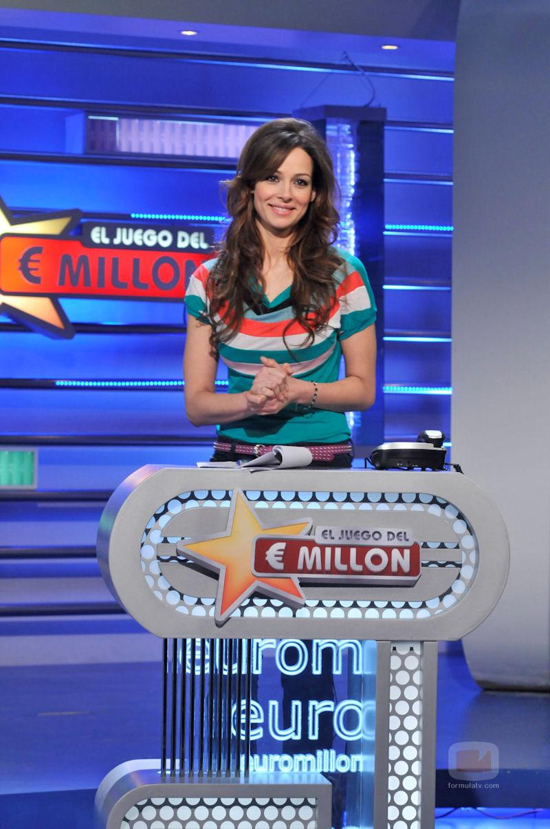 Eva González, presentadora de 'El juego del Euromillón'