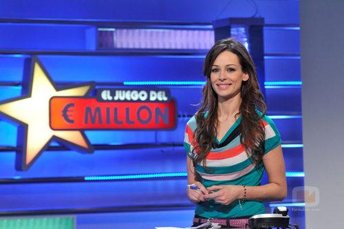 Eva González en 'El juego del Euromillón'