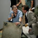 Wentworth Miller y Robert Kneeper