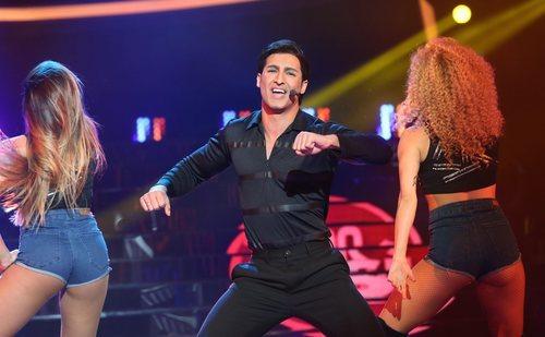 Jorge González hace de Chayanne en la Gala 3 de 'Tu cara me suena 8'