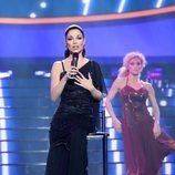 María Isabel como Isabel Pantoja en la Gala 3 de 'Tu cara me suena 8'