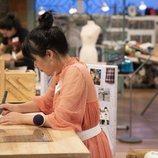Xiaona Dai, en una prueba de 'Maestros de la costura 3'