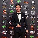 Fernando Tielve en la alfombra roja de los Premios Goya 2020