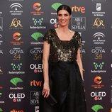 Elia Galera en la alfombra roja de los Premios Goya 2020