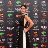 Belén López posa en la alfombra roja de los Premios Goya 2020