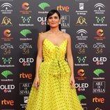Elena Sánchez Sánchez posa en la alfombra roja de los Premios Goya 2020