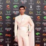 Eduardo Casanova en los Premios Goya 2020