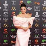 Silvia Abril posa en la alfombraroja de los Premios Goya 2020