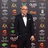 Jesús Vidal posa en la alfombra roja de los Premios Goya 2020