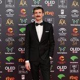 Julián Villagrán en la alfombra roja de los Premios Goya 2020