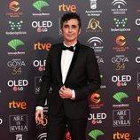 Canco Rodríguez en la alfombra roja de los Premios Goya 2020