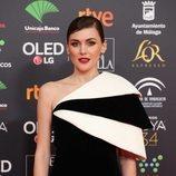 Marta Nieto posa en la alfombra roja de los Premios Goya 2020