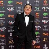 Mariano Peña en la alfombra roja de los Premios Goya 2020