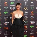 Belén Cuesta posa en la alfombra roja de los Premios Goya 2020