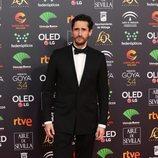 Juan Diego Botto en la alfombra roja de los Premios Goya 2020