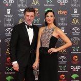 Laila Alemany y Armando del Río en la alfombra roja de los Premios Goya 2020