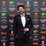 Manolo Solo en la alfombra roja de los Premios Goya 2020