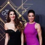 Elsa Anka y Lidia Torrent en la alfombra roja de los Premios Goya 2020