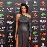 María Luisa Mayol posa en la alfombra roja de los Premios Goya 2020