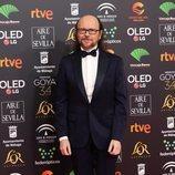 Santiago Seguro en la alfombra roja de los Premios Goya 2020