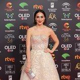 Tamara Falcó en la alfombra roja de los Premios Goya 2020