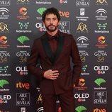Paco León en la alfombra roja de los Premios Goya 2020