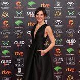 Malena Alterio posa en la alfombra roja de los Premios Goya 2020