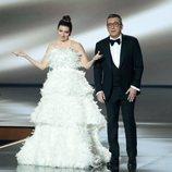 Silvia Abril y Buenafuente en la gala de los Premios Goya 2020