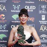 Belén Cuesta con su Premio Goya 2020 a Mejor Actriz Protagonists