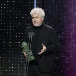 Pedro Almodóvar recoge el premio a Mejor Guion Original por