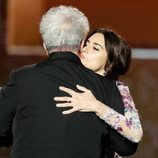 Pedro Almodóvar y Penélope Cruz en los Premios Goya 2020