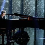 Jamie Cullum durante su actuación en la gala de los Premios Goya 2020