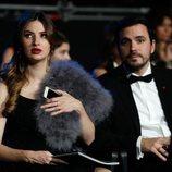 Alberto Garzon y su mujer Anna Ruiz en la gala de los Premios Goya 2020